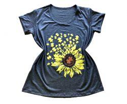 Blusa - T-Shirts Girassol