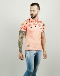 Camisa Gola Polo Masculina Organic Folhagem